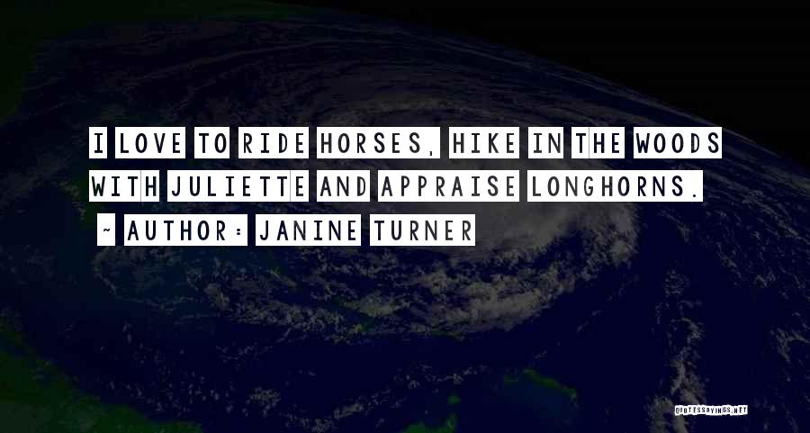Horses And Quotes By Janine Turner