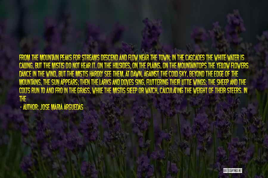 Horses And Quotes By Jose Maria Arguedas