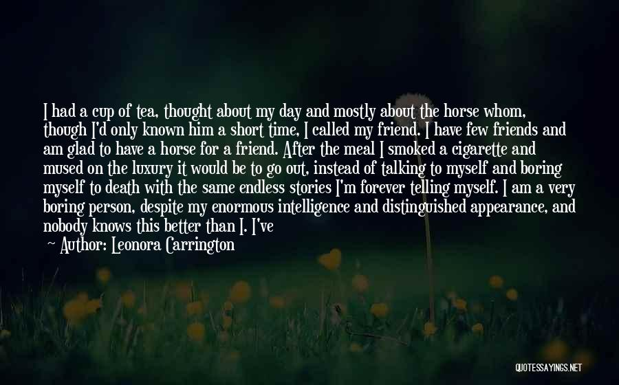 Horses And Quotes By Leonora Carrington