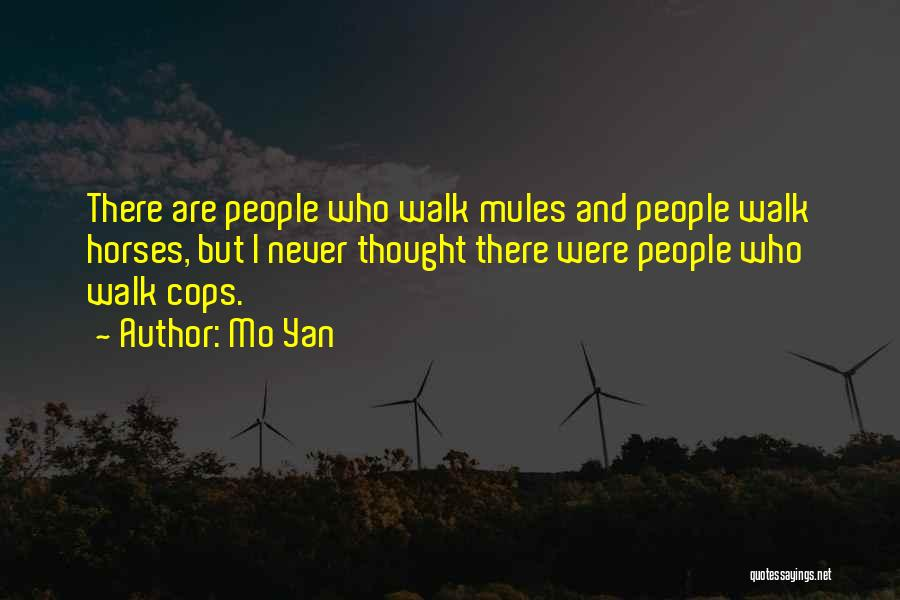 Horses And Quotes By Mo Yan
