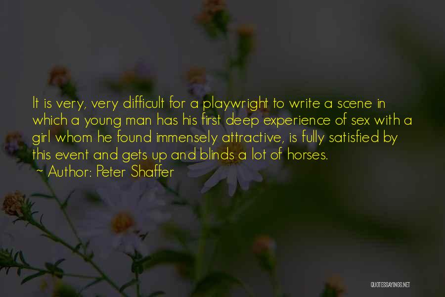 Horses And Quotes By Peter Shaffer