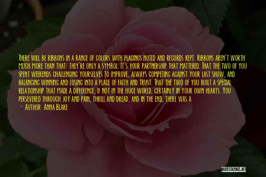 Horses Quotes By Anna Blake