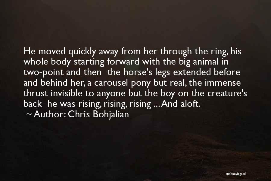 Horses Quotes By Chris Bohjalian