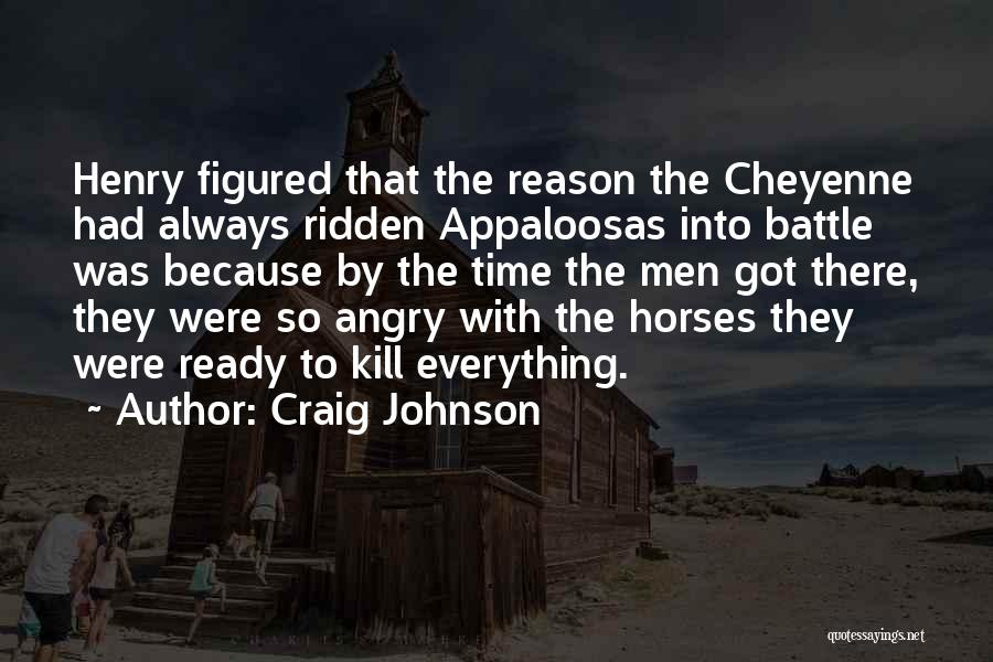 Horses Quotes By Craig Johnson