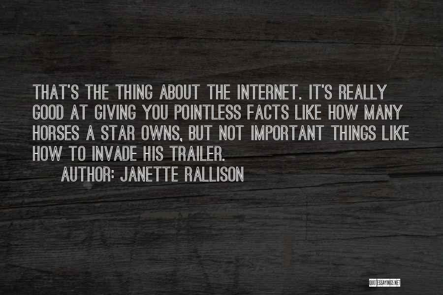 Horses Quotes By Janette Rallison