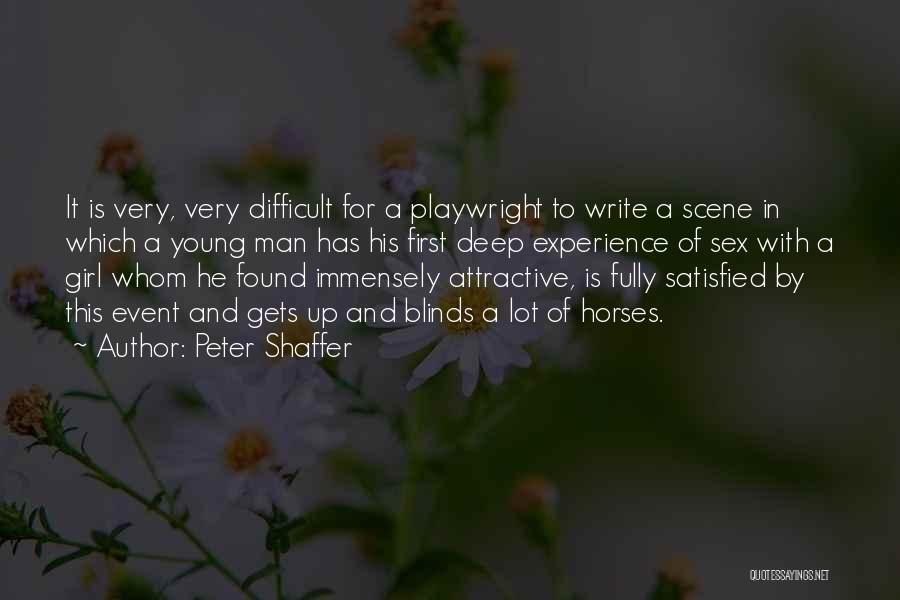 Horses Quotes By Peter Shaffer