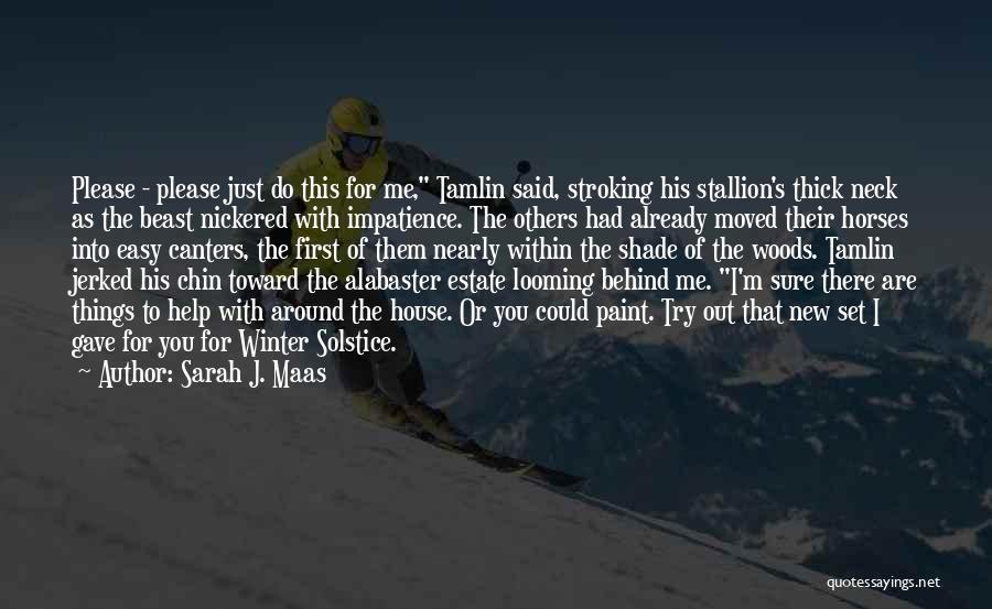 Horses Quotes By Sarah J. Maas