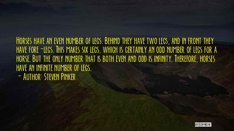 Horses Quotes By Steven Pinker