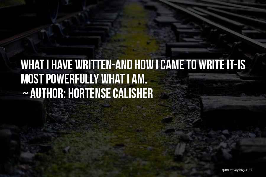 Hortense Calisher Quotes 123938