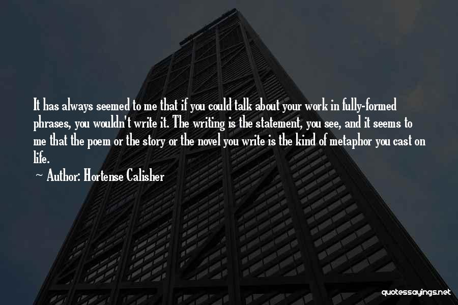 Hortense Calisher Quotes 1335142