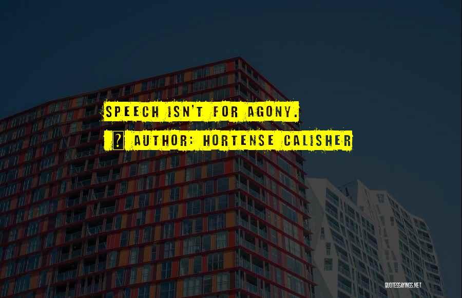 Hortense Calisher Quotes 1415435