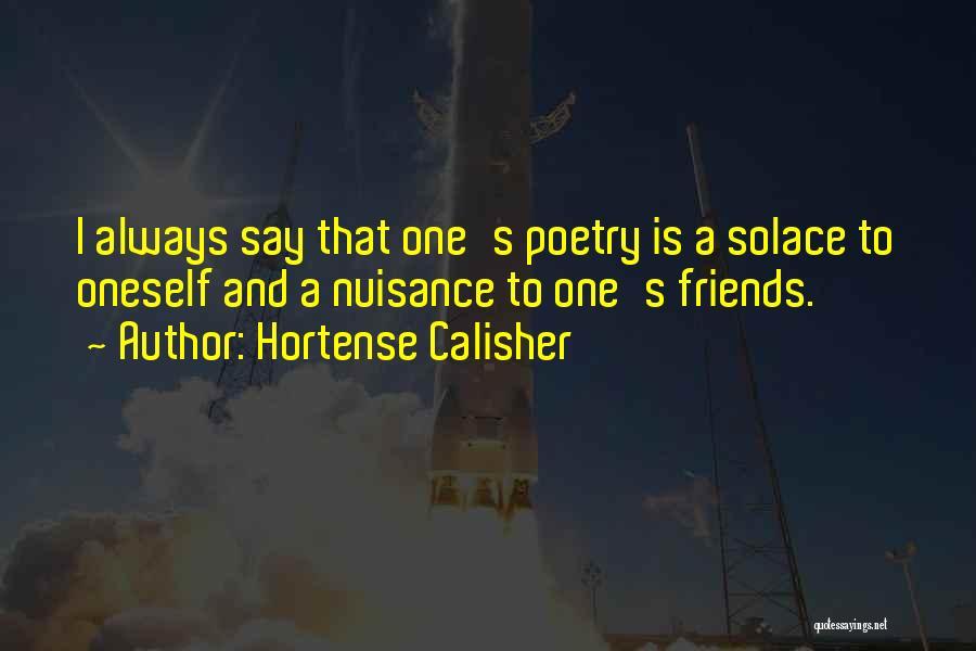 Hortense Calisher Quotes 1481233