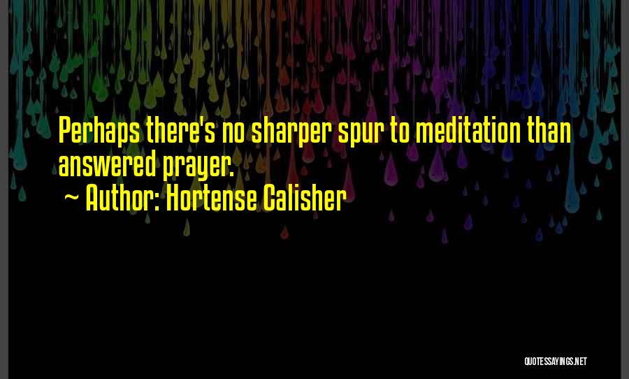 Hortense Calisher Quotes 1762005
