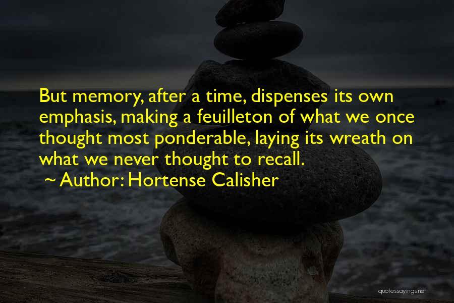 Hortense Calisher Quotes 744765