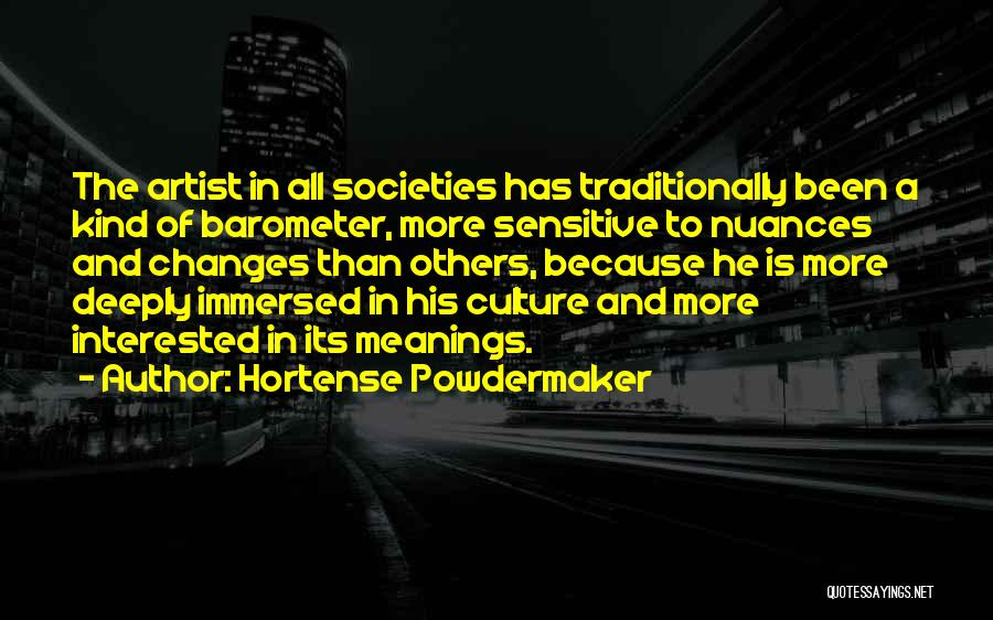 Hortense Powdermaker Quotes 464876