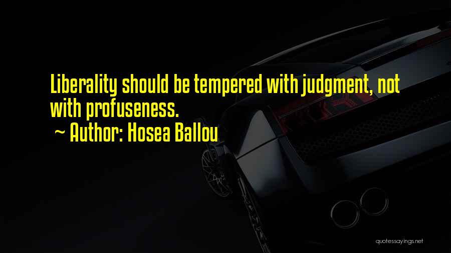 Hosea Ballou Quotes 1085001