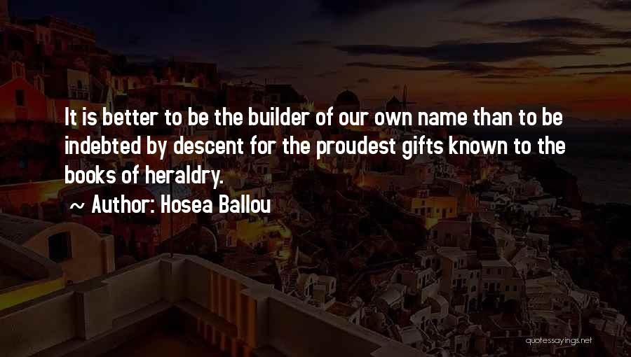 Hosea Ballou Quotes 109778