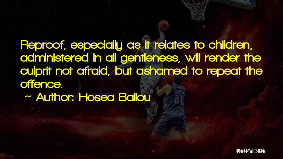 Hosea Ballou Quotes 1148023