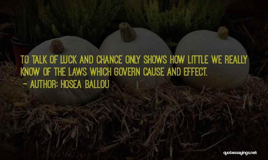Hosea Ballou Quotes 1152603