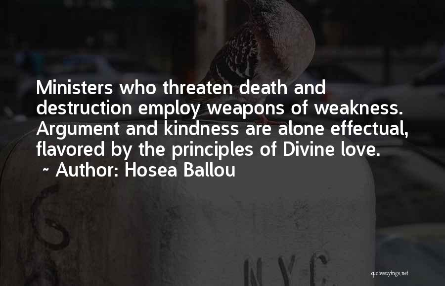 Hosea Ballou Quotes 1341140