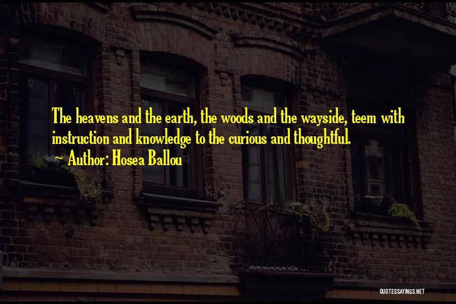 Hosea Ballou Quotes 1472563