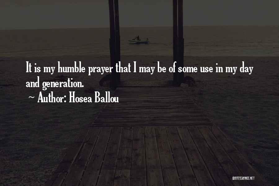 Hosea Ballou Quotes 153280