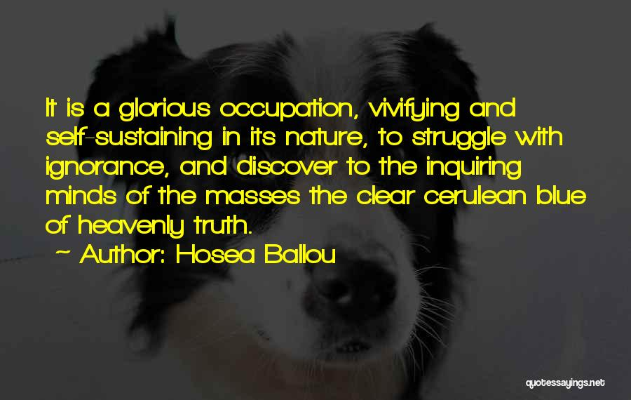 Hosea Ballou Quotes 1740263