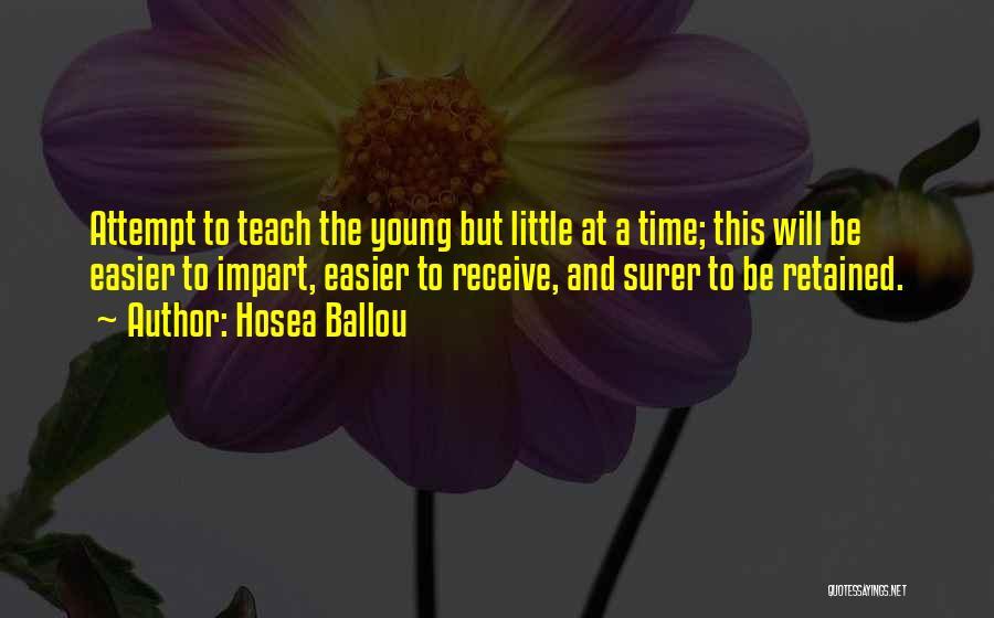 Hosea Ballou Quotes 1742289