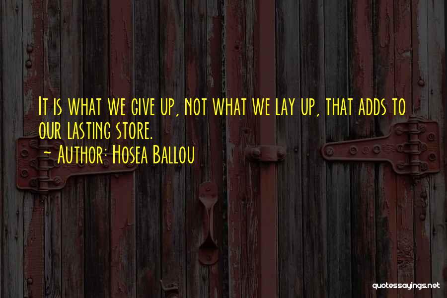 Hosea Ballou Quotes 1743913