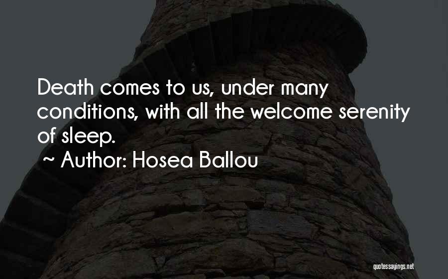 Hosea Ballou Quotes 1747228