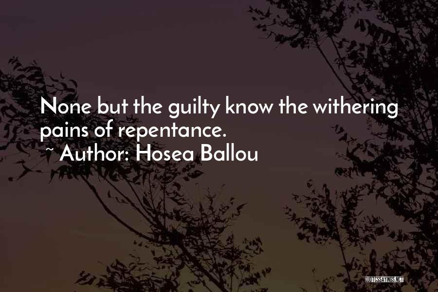 Hosea Ballou Quotes 1789834