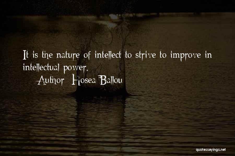 Hosea Ballou Quotes 1832908
