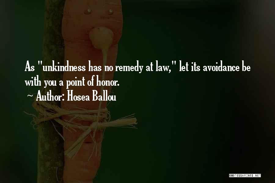 Hosea Ballou Quotes 1855922
