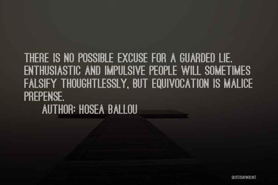 Hosea Ballou Quotes 1863720