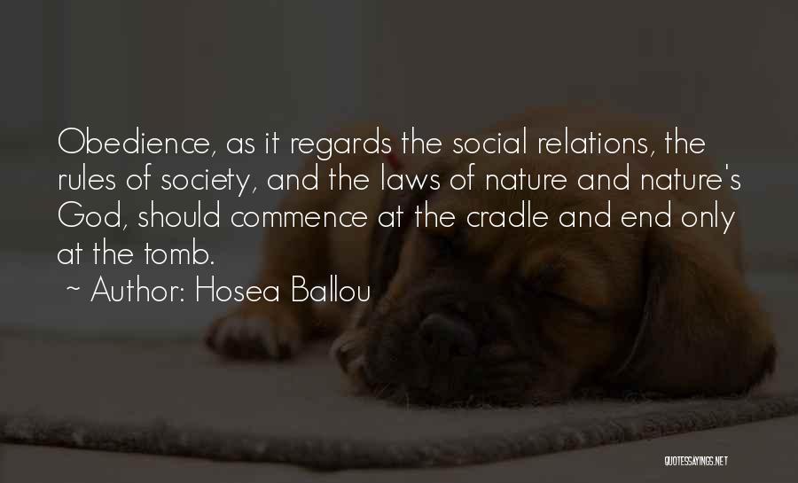 Hosea Ballou Quotes 1891876