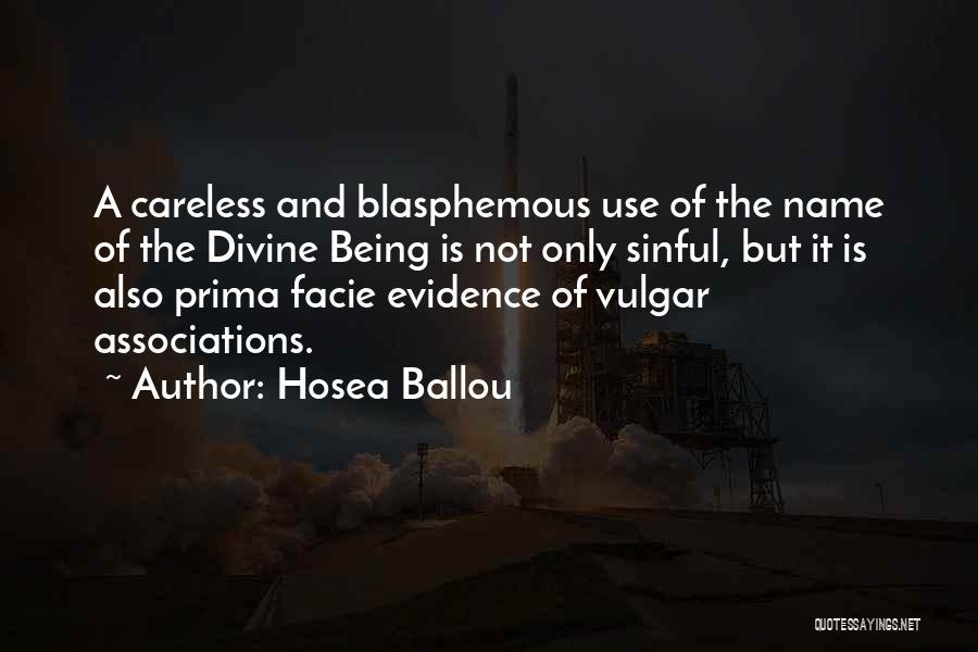 Hosea Ballou Quotes 1948216