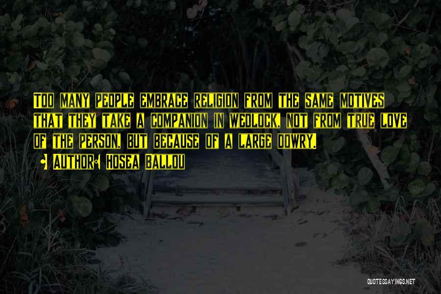Hosea Ballou Quotes 2007679