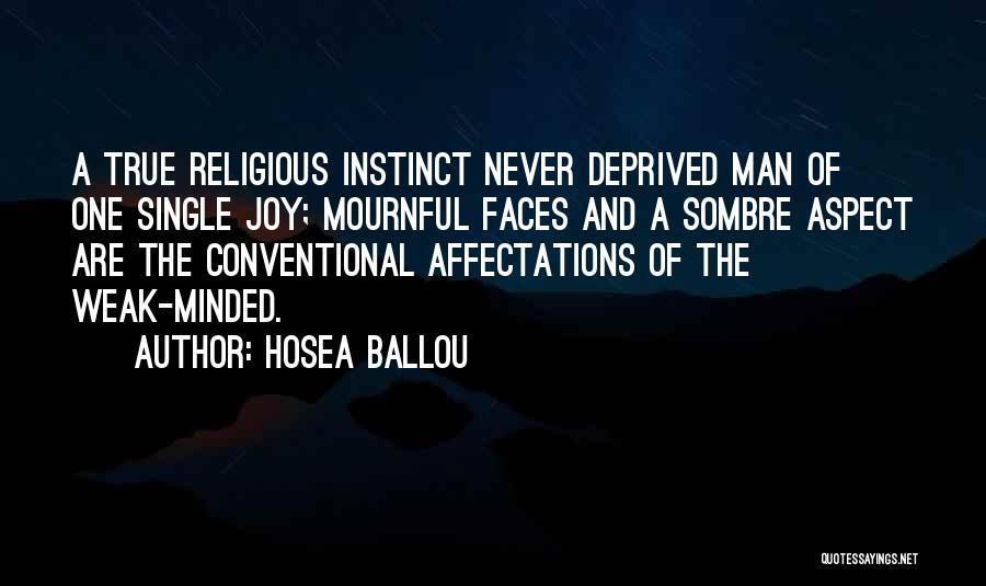 Hosea Ballou Quotes 2040256