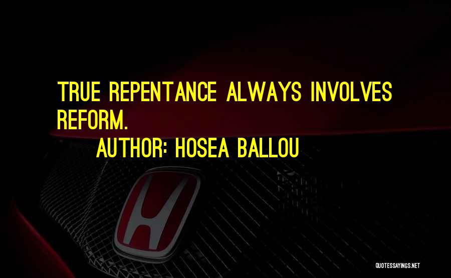 Hosea Ballou Quotes 2040579