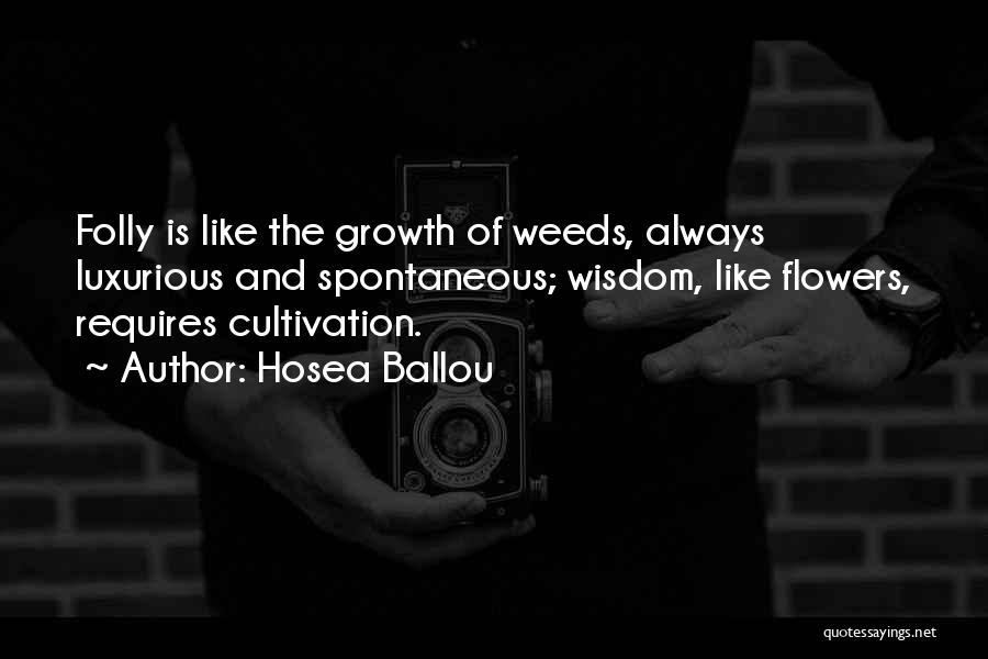 Hosea Ballou Quotes 2064656