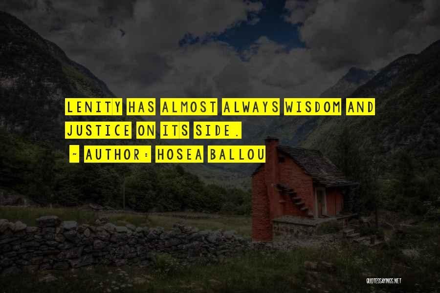 Hosea Ballou Quotes 2124491