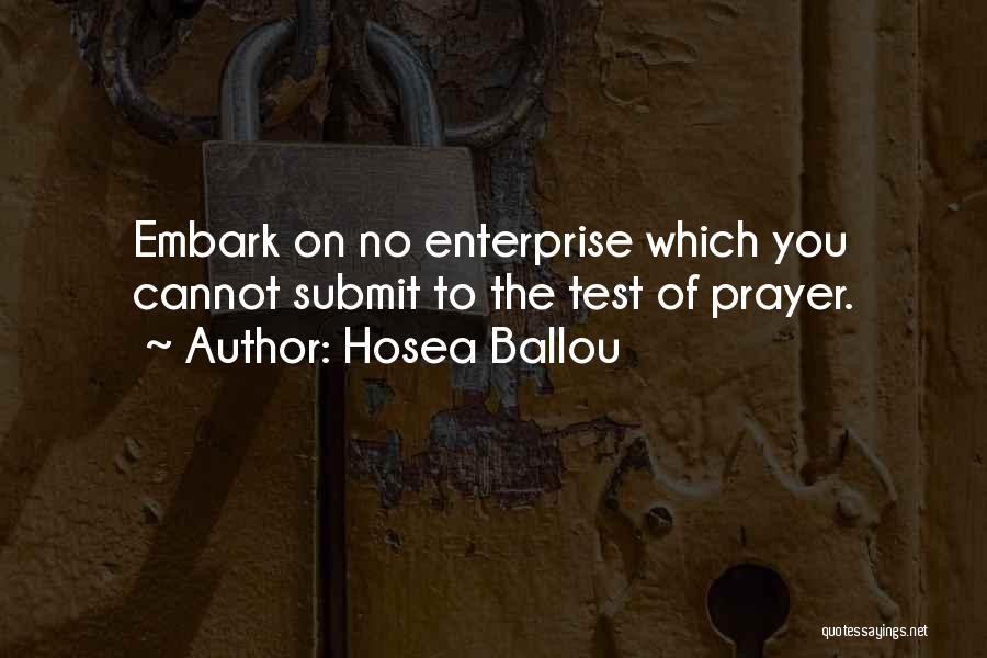 Hosea Ballou Quotes 2175022