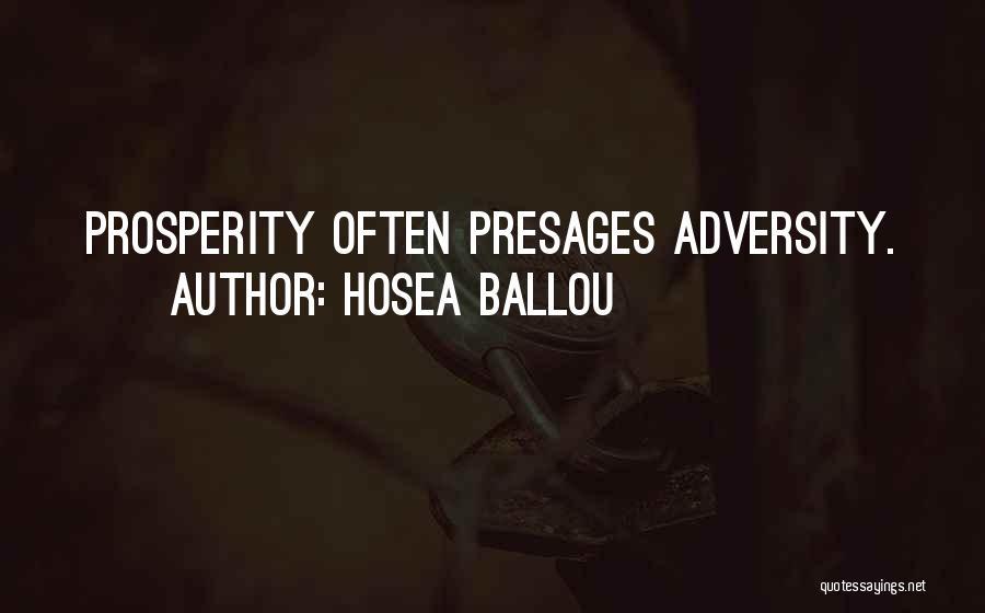 Hosea Ballou Quotes 240788