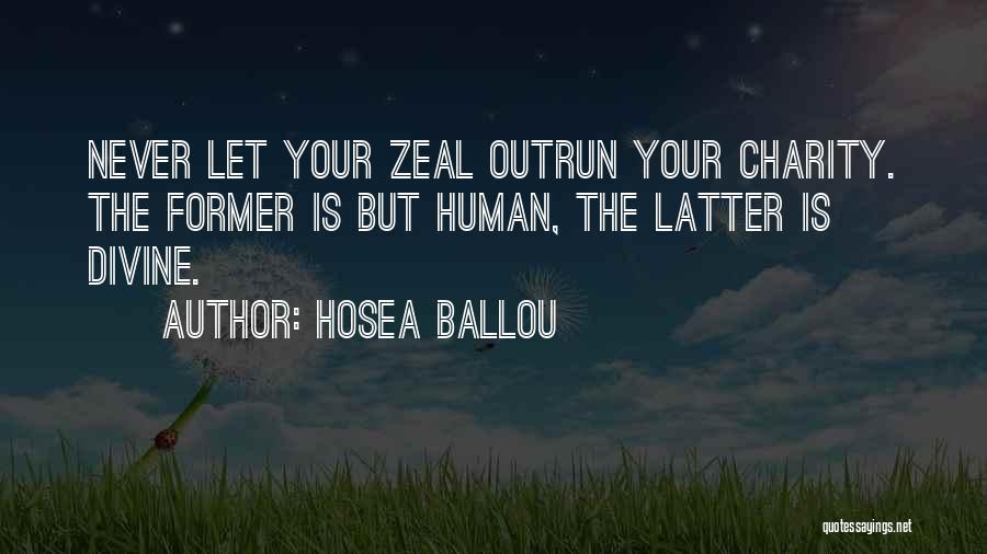 Hosea Ballou Quotes 241814