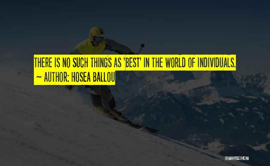 Hosea Ballou Quotes 289739