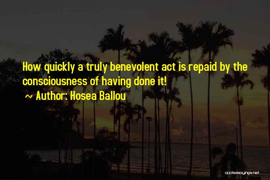 Hosea Ballou Quotes 291139
