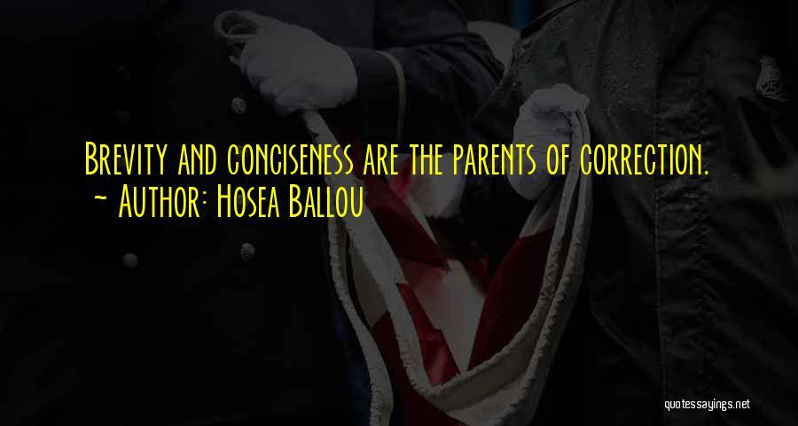 Hosea Ballou Quotes 383161