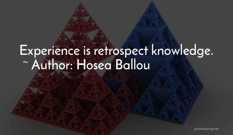 Hosea Ballou Quotes 521826