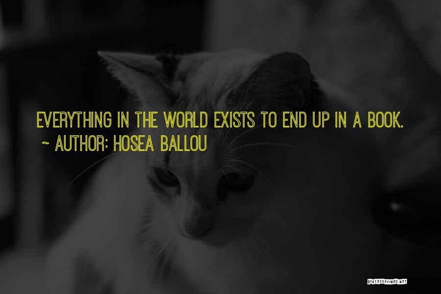 Hosea Ballou Quotes 531431