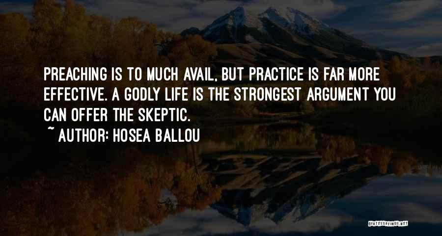 Hosea Ballou Quotes 552584